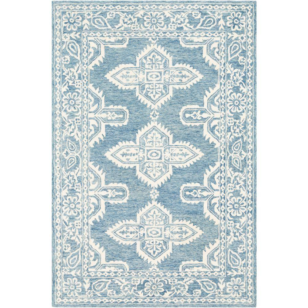 Artistic Weavers Asuncion Light Blue 9 ft. 9 in. x 13 ft. 9 in. Moroccan Area Rug