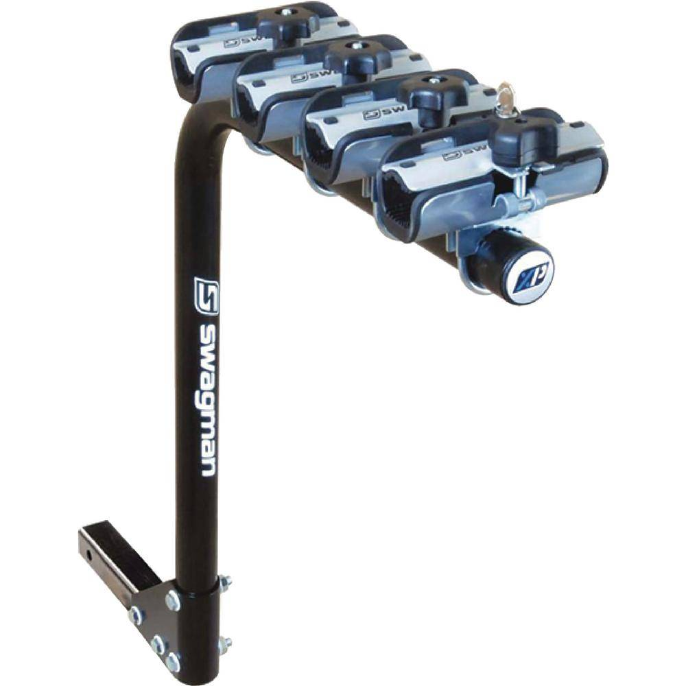 Swagman Black XP Standard 4-Bikes Single Arm RV Rack