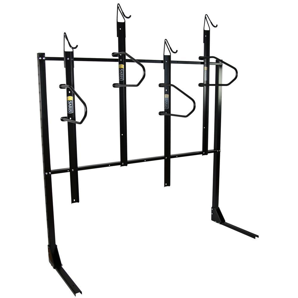 SARIS 4-Bike Vertical Locking Bike Rack
