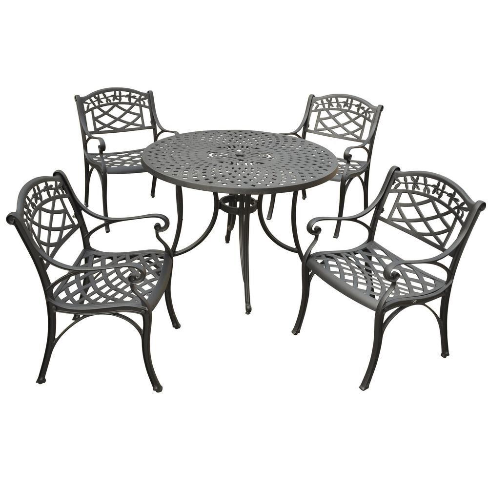 Crosley Sedona 5-Piece Metal Outdoor Dining Set