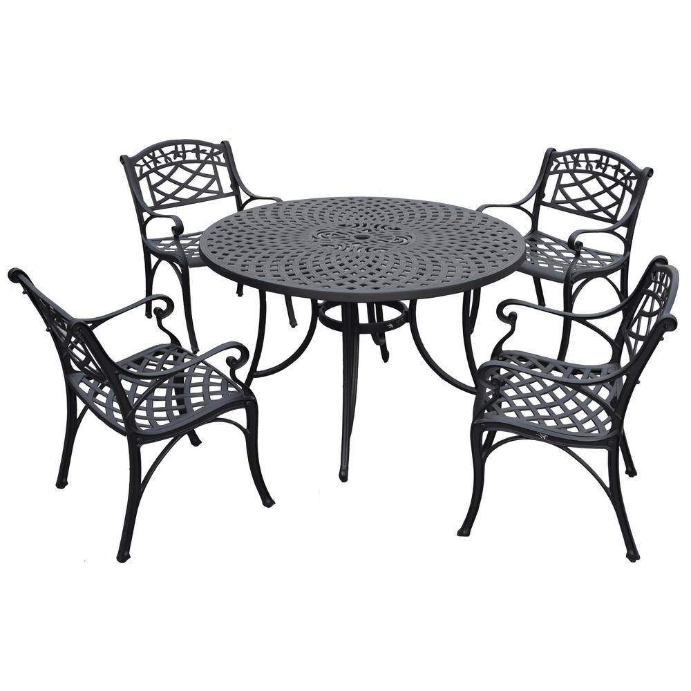 Crosley Sedona 5-Piece Cast Aluminum Outdoor Dining Set