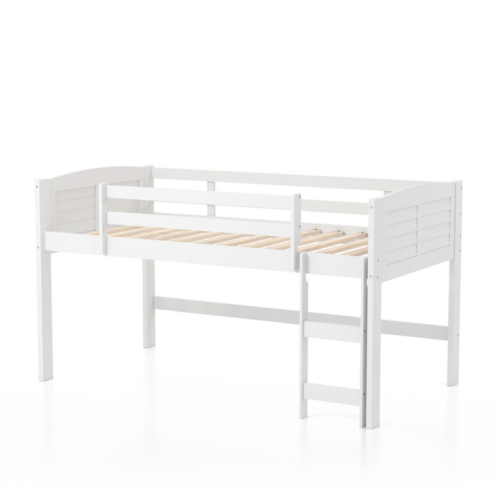 Furniture of America Bradford White Twin Bed