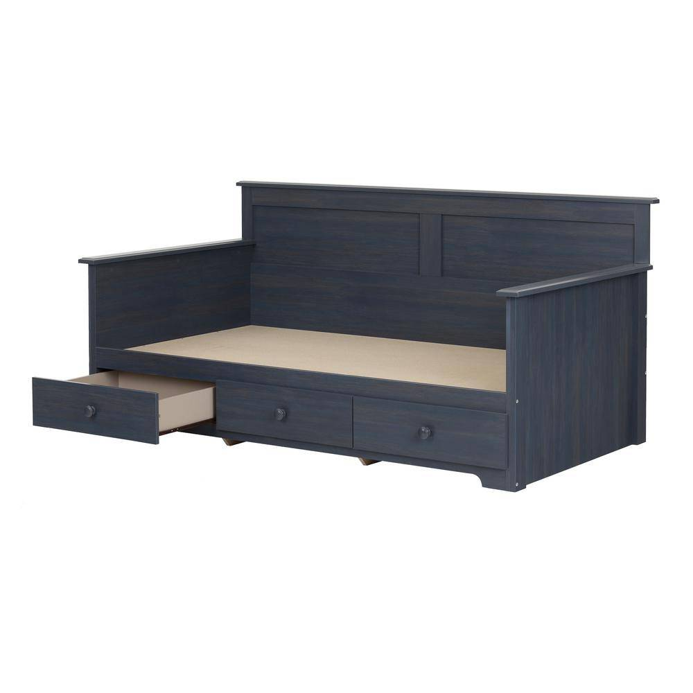South Shore Summer Breeze Blueberry Twin Daybed