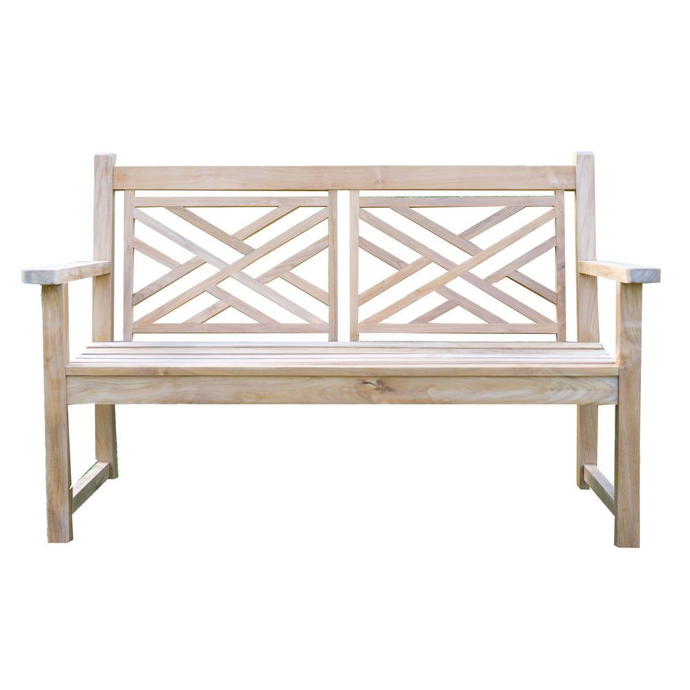 BEESPOKE Laurel Teak Outdoor Garden Bench