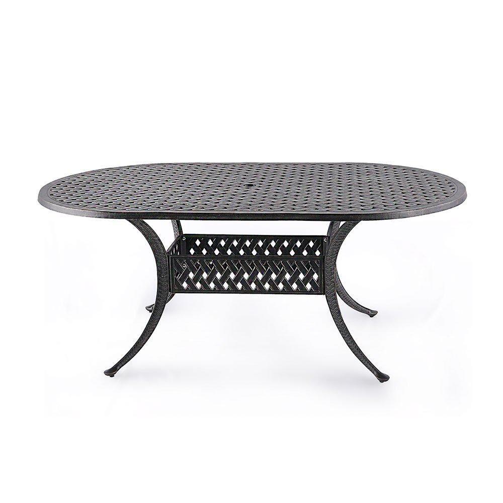 Nuu Garden Cast Aluminum Outdoor Dining Table