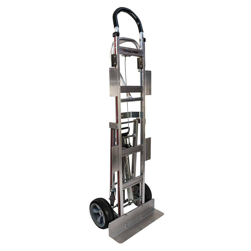 Magliner 800 lb. Capacity Appliance Hand Truck with Vertical Loop Handle, 4th Wheel Attachment, Break Back Bar and Wings