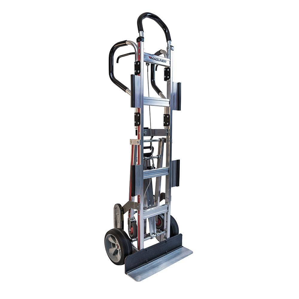 Magliner 800 lb. Capacity Appliance Hand Truck with Dual Shepherd Handle 4th Wheel Attachment Break Back Bar and Wings