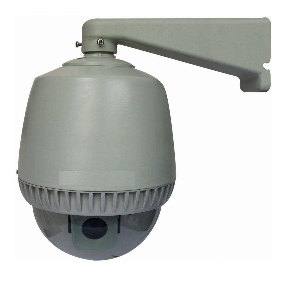 Homevision Technology SeqCam Wired Speed Dome Indoor/Outdoor Security Camera, Grey