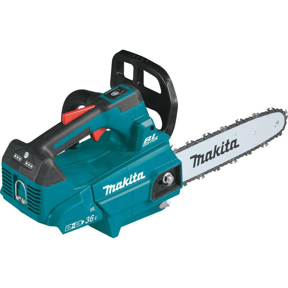Makita 14 in. 18-Volt X2 (36-Volt) LXT Lithium-Ion Brushless Cordless Top Handle Chain Saw (Tool-Only)