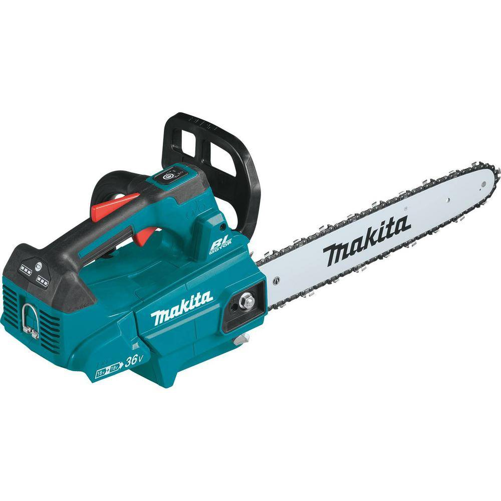 Makita 16 in. 18-Volt X2 (36-Volt) LXT Lithium-Ion Brushless Cordless Top Handle Chain Saw (Tool-Only)