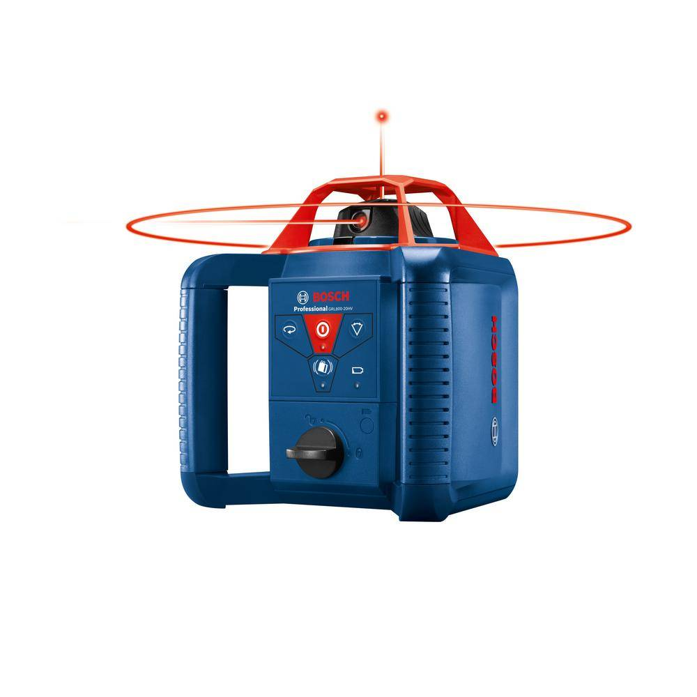 Bosch 800 ft. Self Leveling Rotary Laser Level Kit with Carrying Case