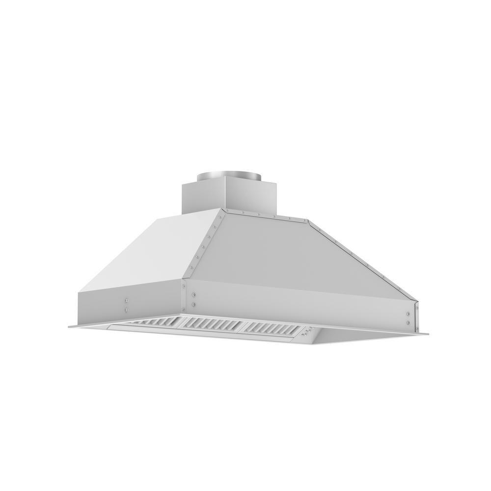 ZLINE Kitchen and Bath ZLINE 40 in. Outdoor Range Hood Insert in Stainless Steel (721-304-40)