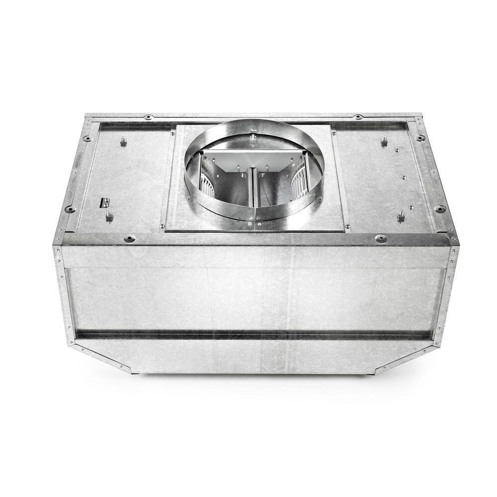 Maytag 1200 CFM Inline Blower for Range Hood, Silver