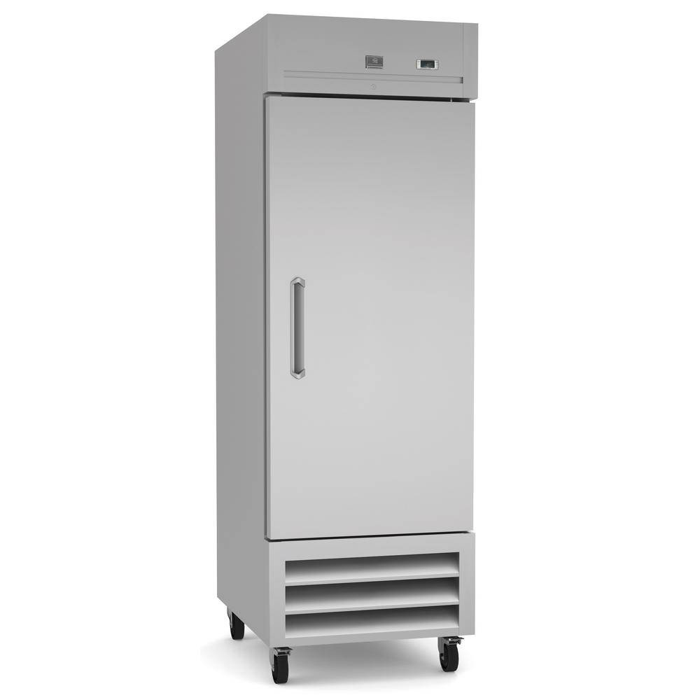 Kelvinator 23 cu. ft. Commercial Upright Reach-In Freezer Stainless Steel, Silver