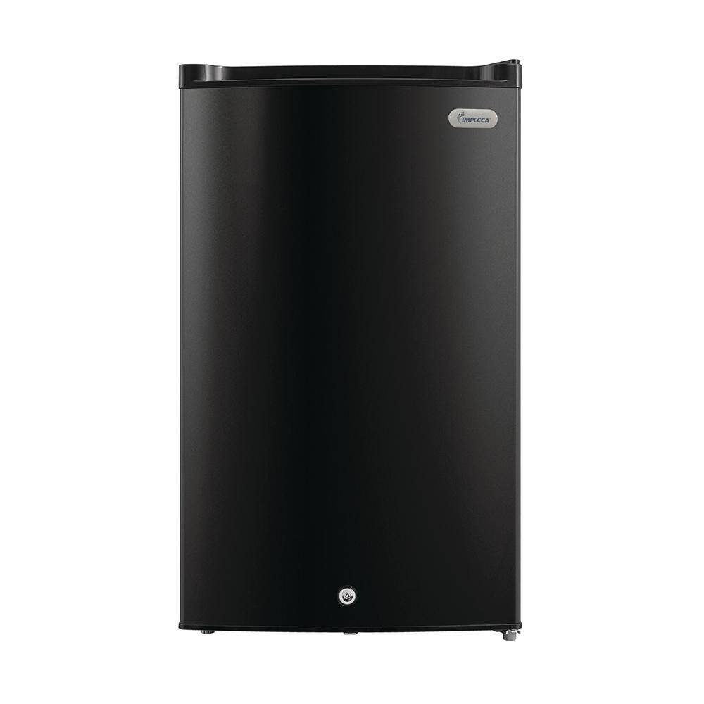 Impecca 3 cu. ft. compact Upright Freezer in Black