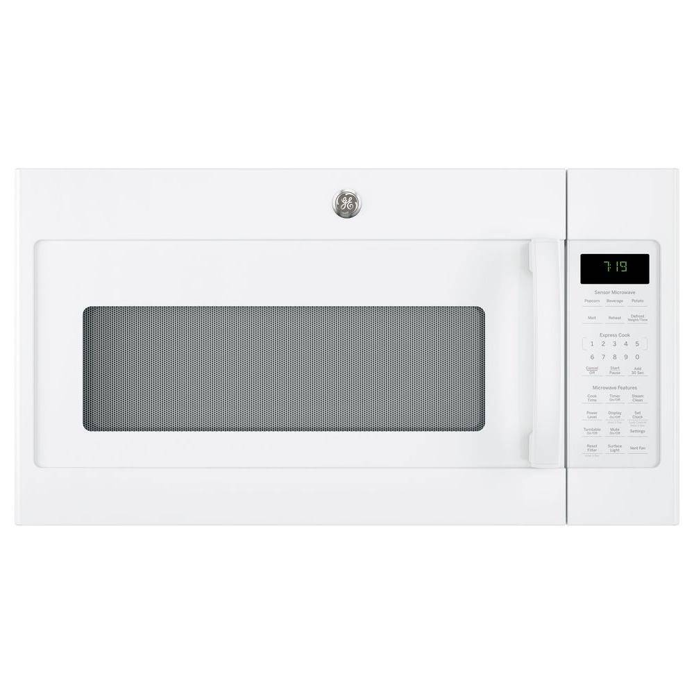 GE 1.9 cu. ft. Over the Range Microwave with Sensor Cooking in White