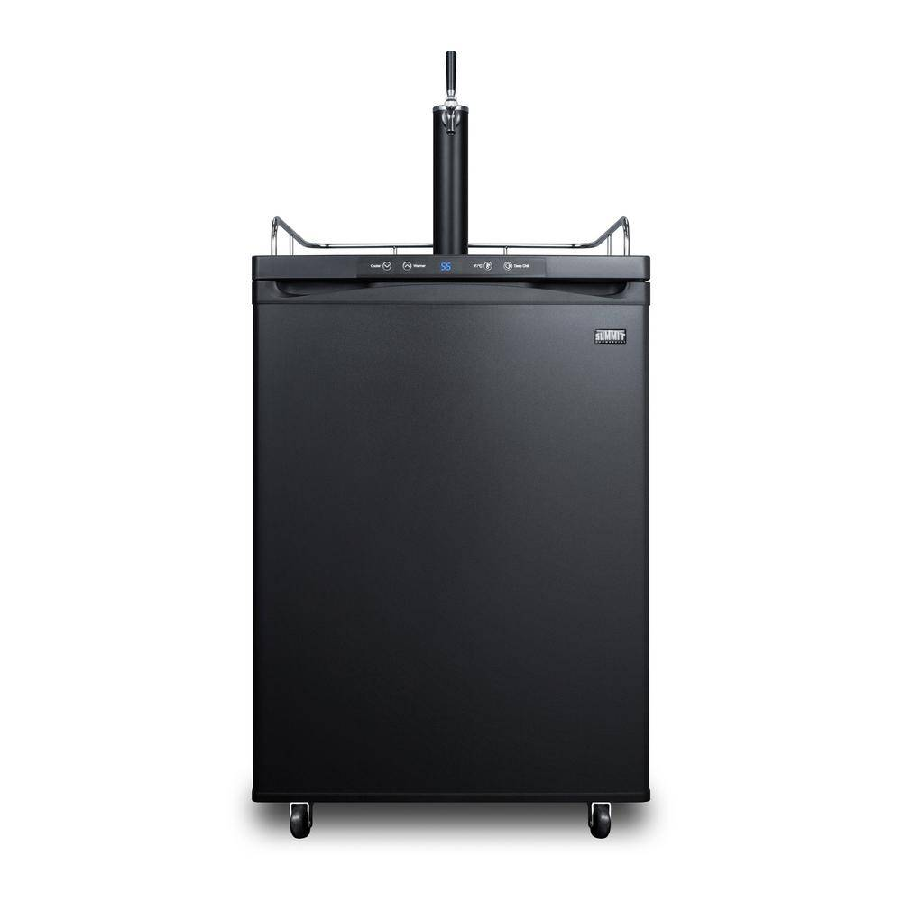 Summit Appliance 1/2 Keg Beer Dispenser, Black
