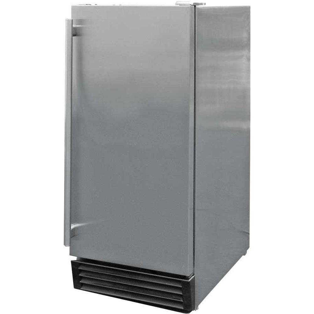 Cal Flame 3.25 cu. ft. Built-In Outdoor Refrigerator in Stainless Steel, Silver