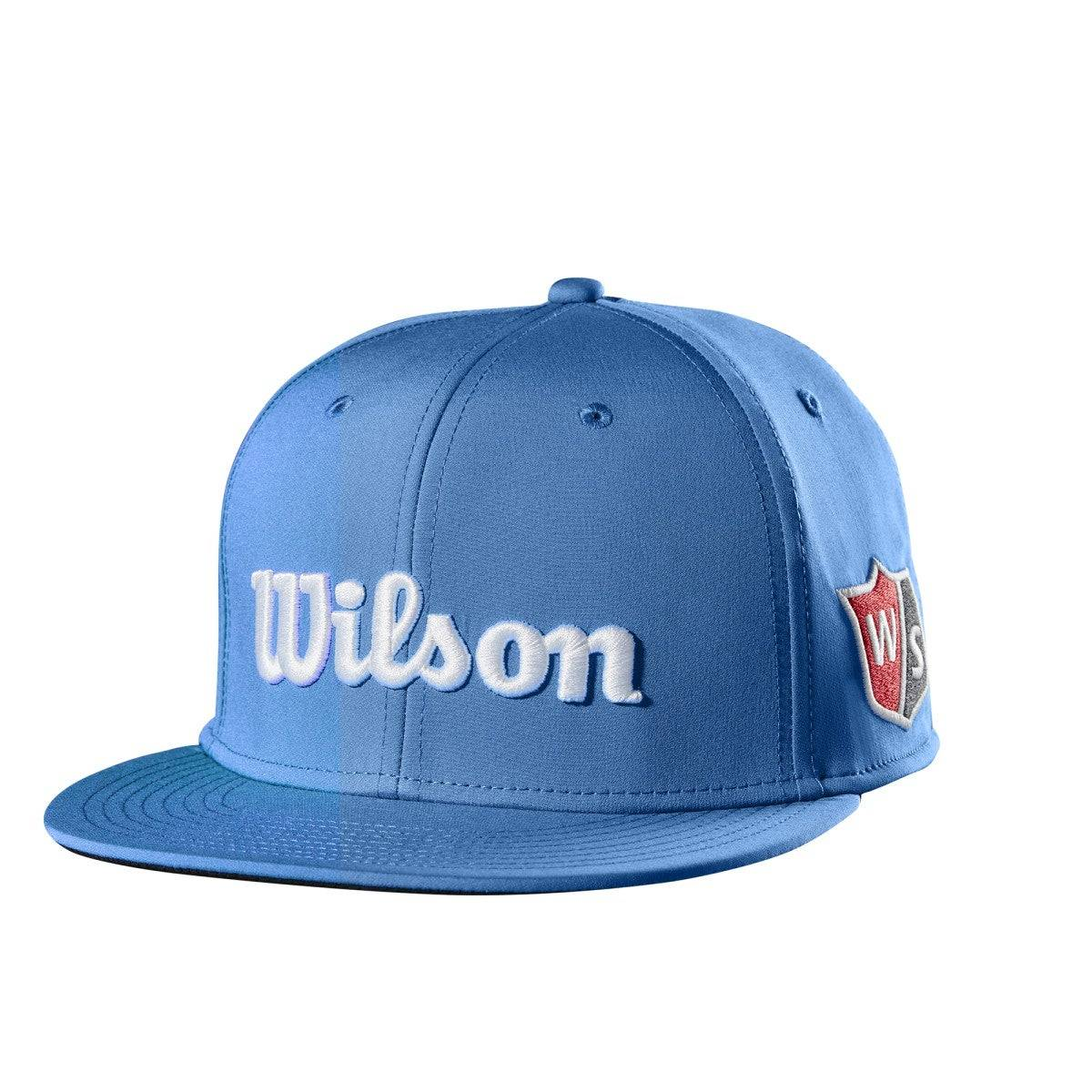 Wilson Flat Brim Hat in Blue - Size: One Size  - Unisex - Blue - Size: One Size