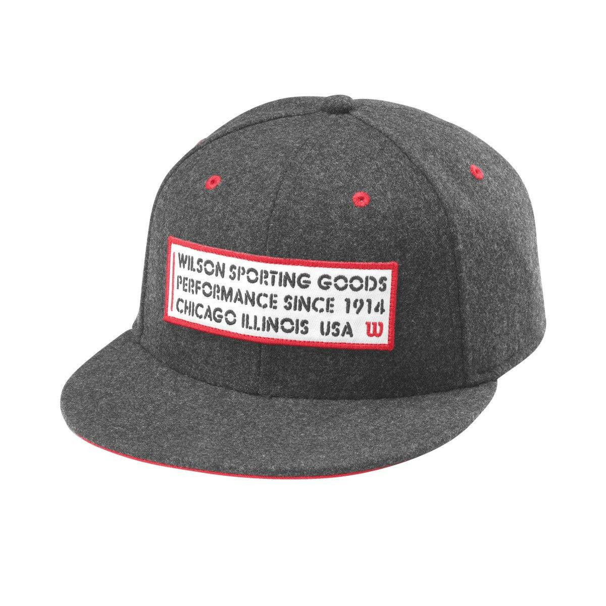 Wilson Since 1914 Hat in Charcoal Heather - Size: One Size Fits Most  - Unisex - Charcoal Heather - Size: One Size Fits Most