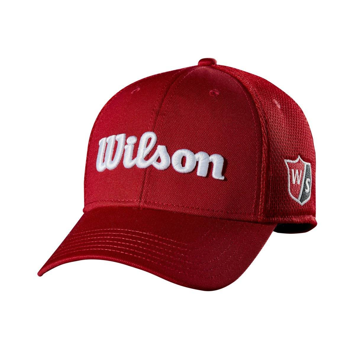 Wilson Tour Mesh Cap in Red - Size: One Size  - Unisex - Red - Size: One Size