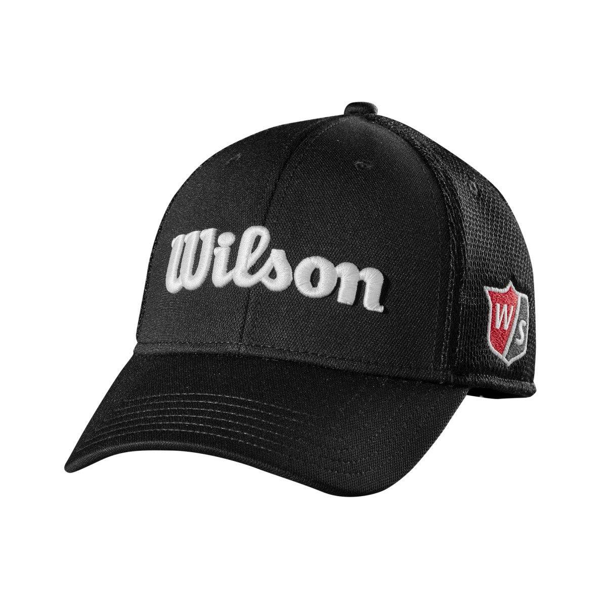 Wilson Tour Mesh Cap in Black - Size: One Size  - Unisex - Black - Size: One Size