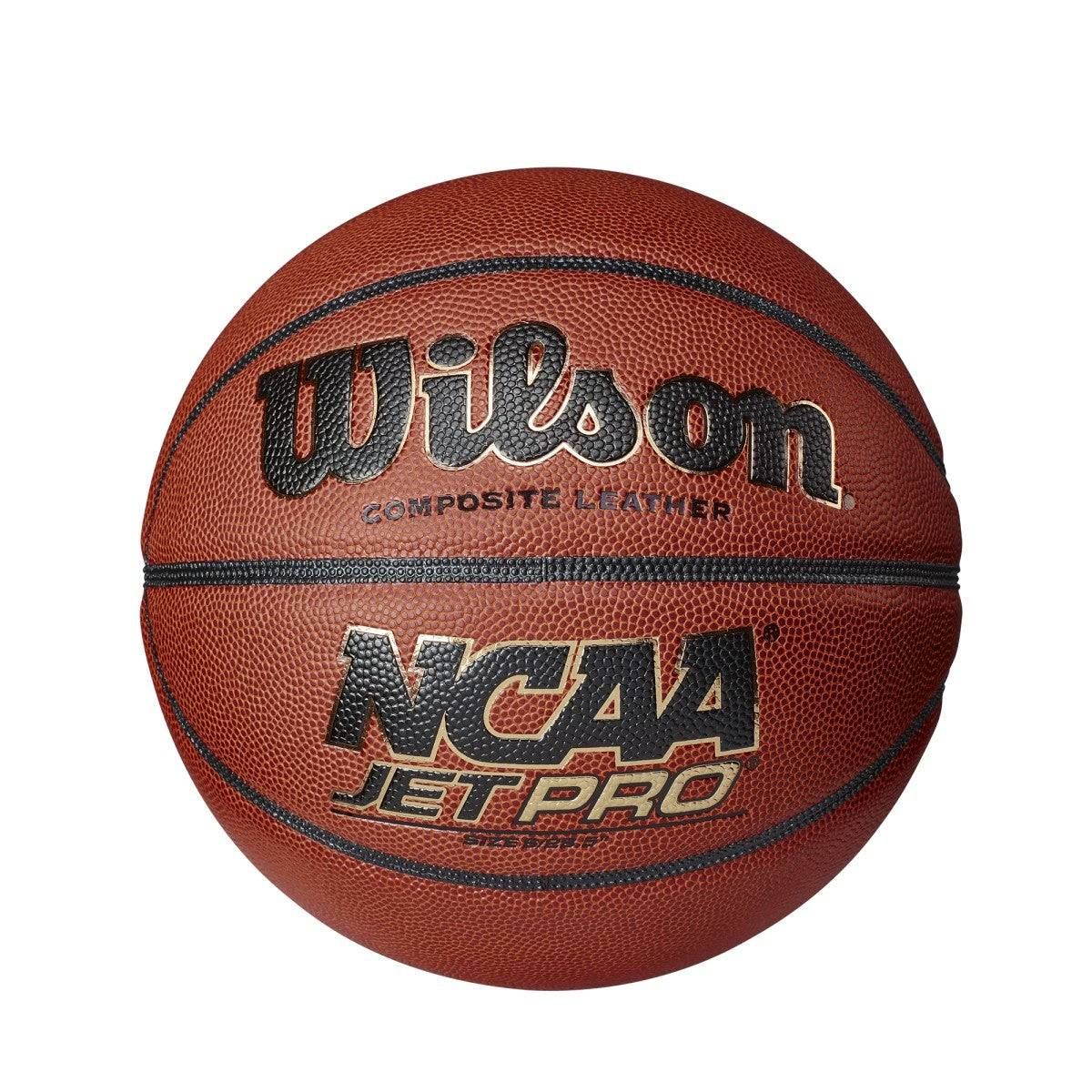 """Wilson NCAA Jet Pro Basketball in Brown - Size: Youth - 27.5""""  - Unisex - Brown - Size: Youth - 27.5"""""""