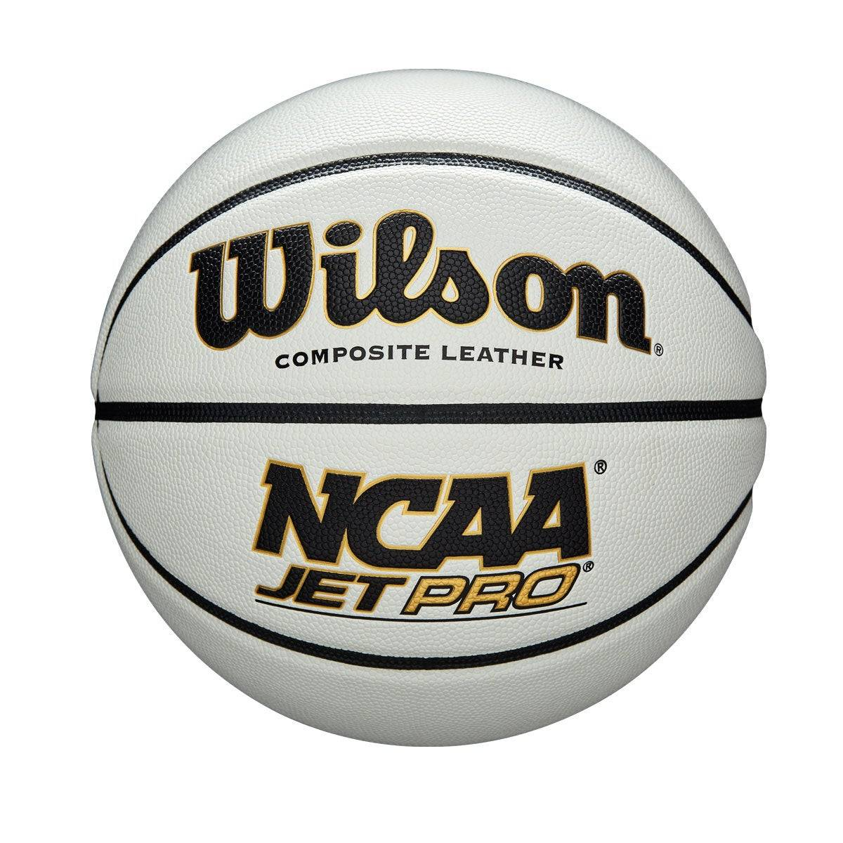 """Wilson NCAA Jet Pro Basketball in White - Size: Official - 29.5""""  - Unisex - White - Size: Official - 29.5"""""""