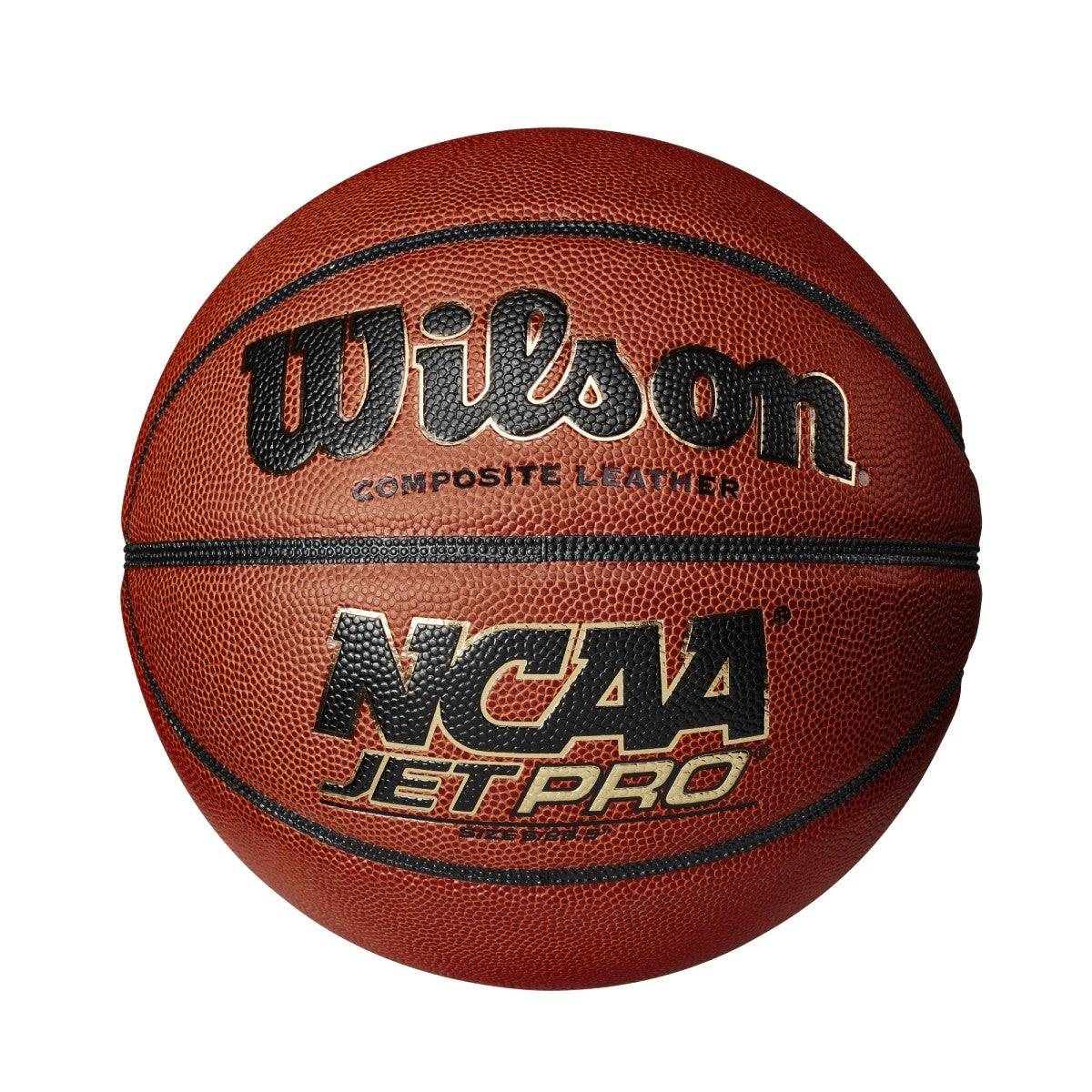 """Wilson NCAA Jet Pro Basketball in Brown - Size: Intermediate - 28.5""""  - Unisex - Brown - Size: Intermediate - 28.5"""""""
