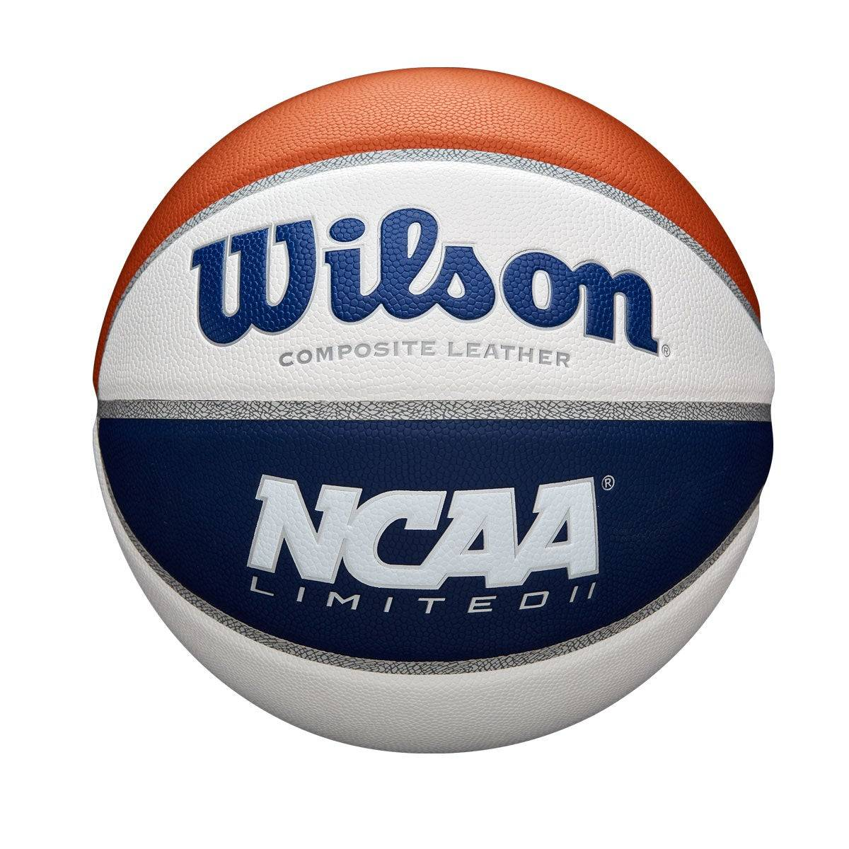 """Wilson NCAA Limited Basketball in Royal / White / Brown - Size: Official - 29.5""""  - Unisex - Royal/White/Brown - Size: Official - 29.5"""""""