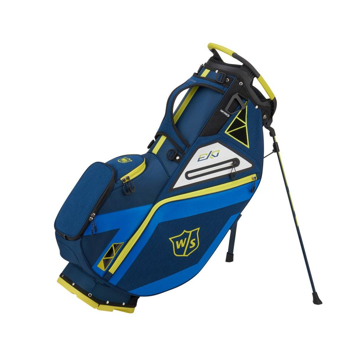 Wilson Exo Stand Bag in Blue / Royal / Yellow  - Unisex - Blue/Royal/Yellow