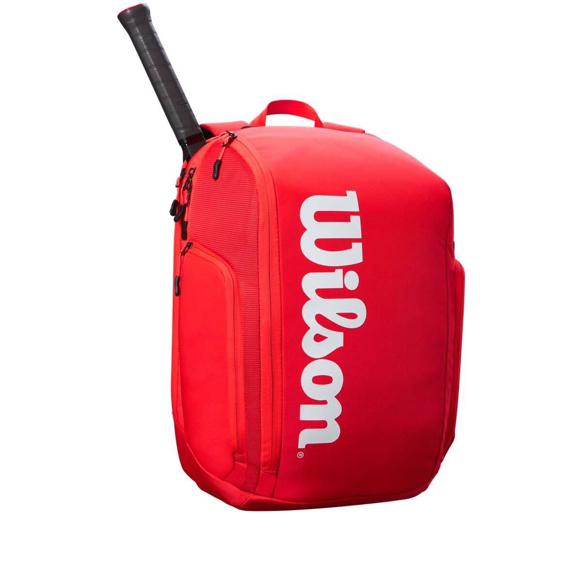Wilson Super Tour Backpack in Red  - Unisex - Red