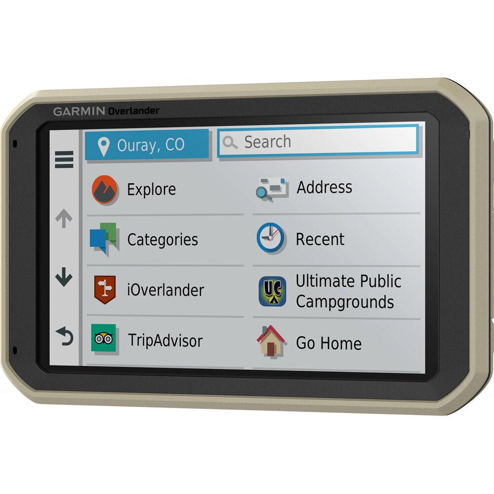 Garmin Overlander On/Off-Road Navigator GPS with Built-In Bluetooth