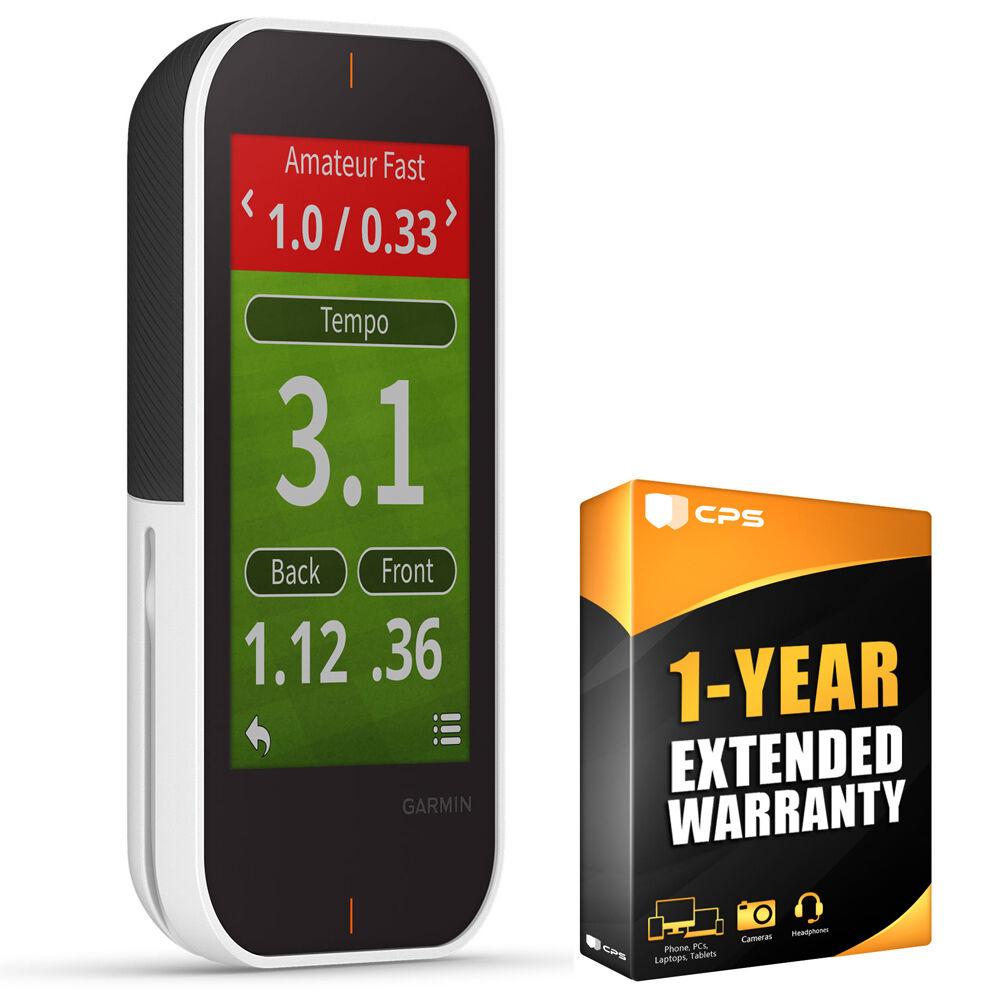 Garmin Approach G80 Premium Golf GPS Handheld Device + 1 Year Extended Warranty