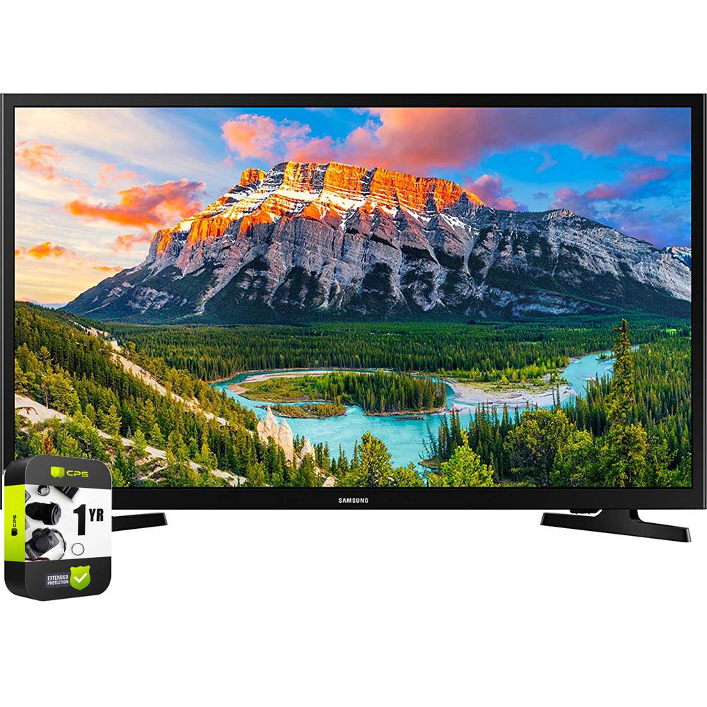 Samsung 32 1080p Smart LED TV 2018 Black with 1 Year Extended Warranty