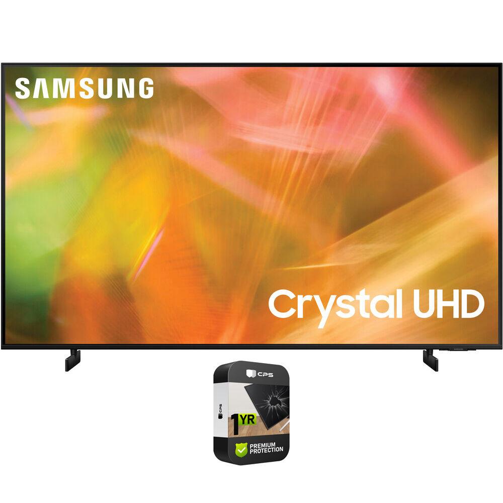 Samsung 50 UHD 4K Crystal UHD Smart LED TV 2021 with Premium Protection Plan