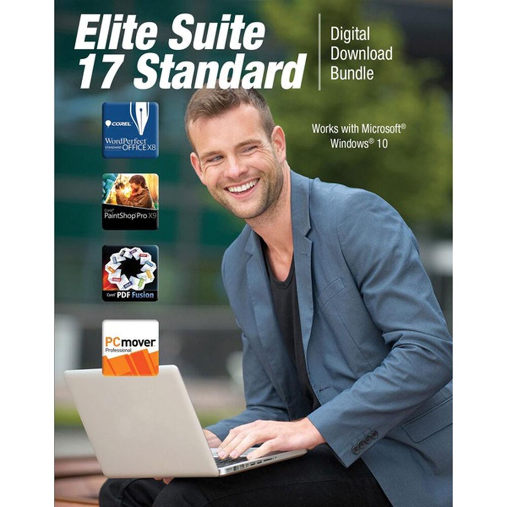 Corel Elite Suite 17 Standard Software Bundle