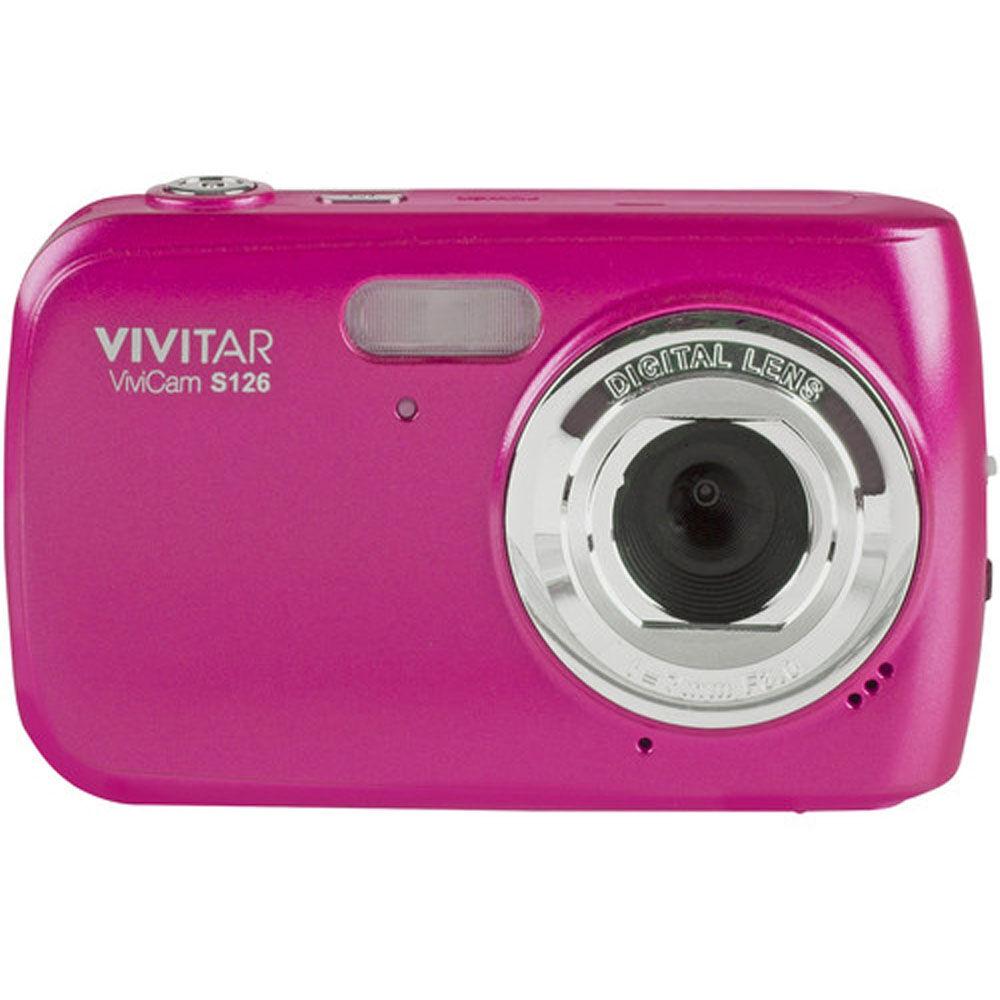 Vivitar 16 MP Digital Camera Hot Pink VS126-PNK