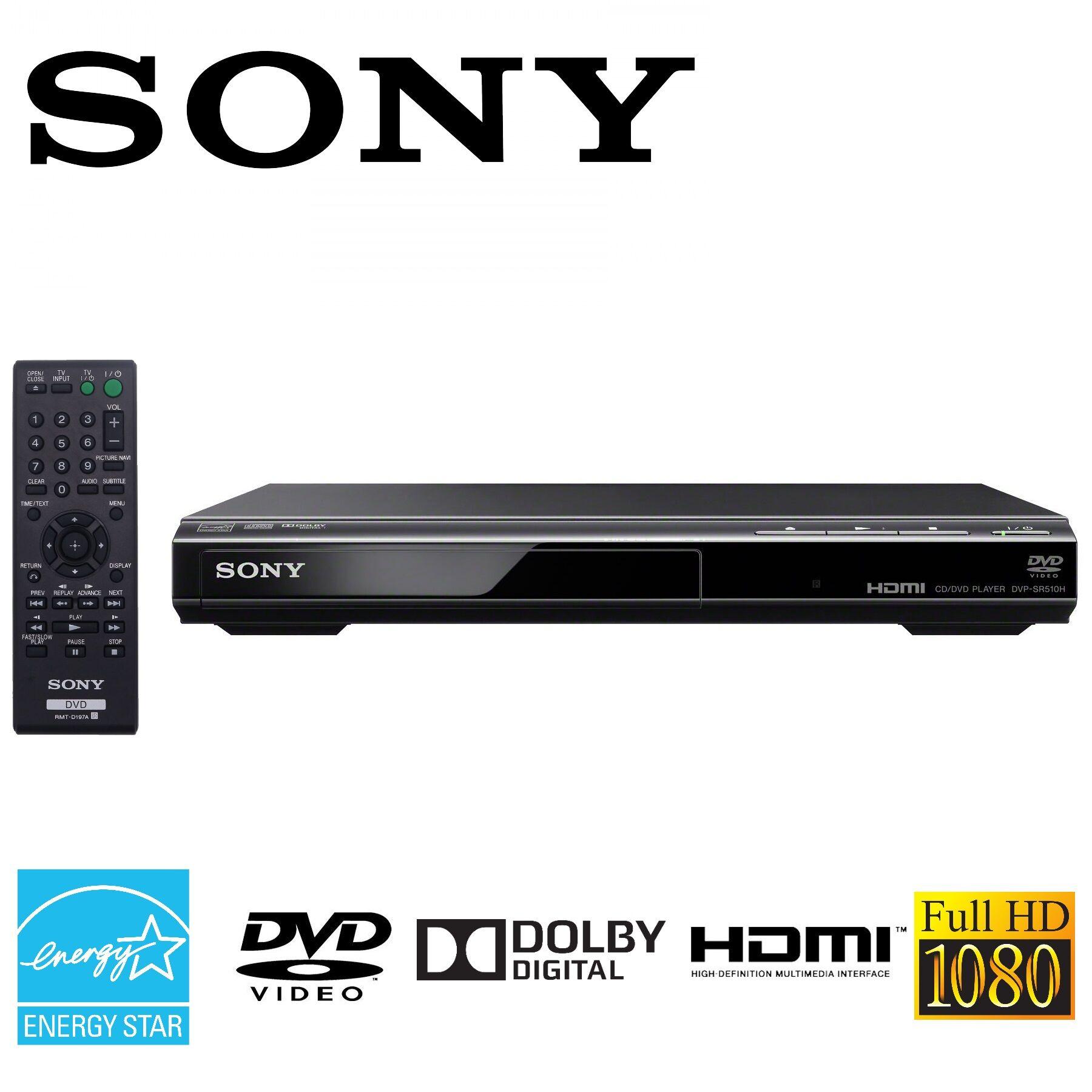 Sony DVPSR510H - DVD Player Ultra Slim 1080p Upscaling