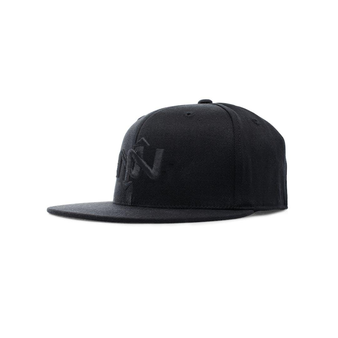 Onnit Helix Flexfit Ballcap Black/Black - L/XL