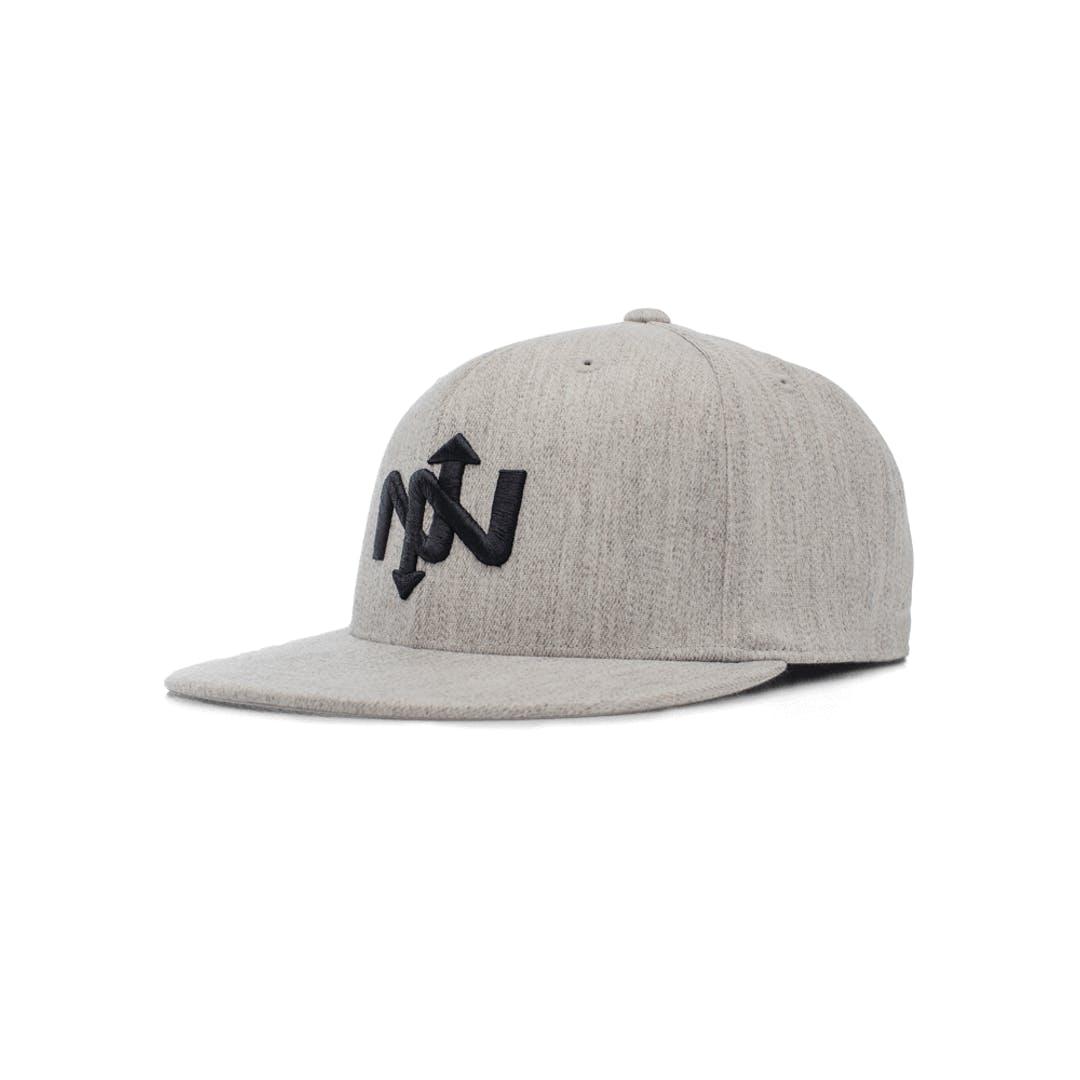 Onnit Helix Flexfit Ballcap Gray Heather/Black - S/M