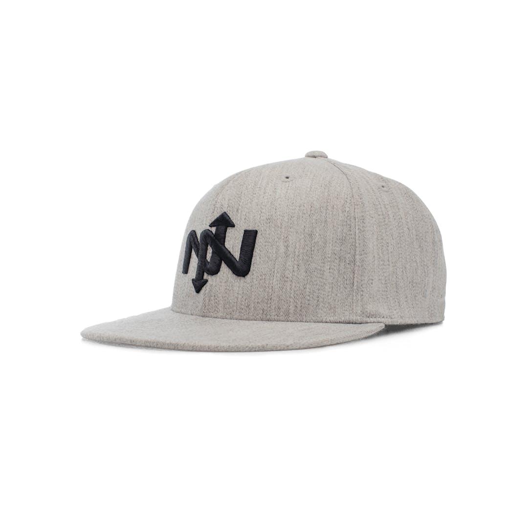 Onnit Helix Flexfit Ballcap Gray Heather/Black - L/XL