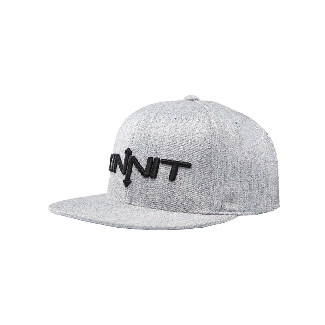 Onnit Type Flexfit Ballcap Gray Heather/Black - S/M