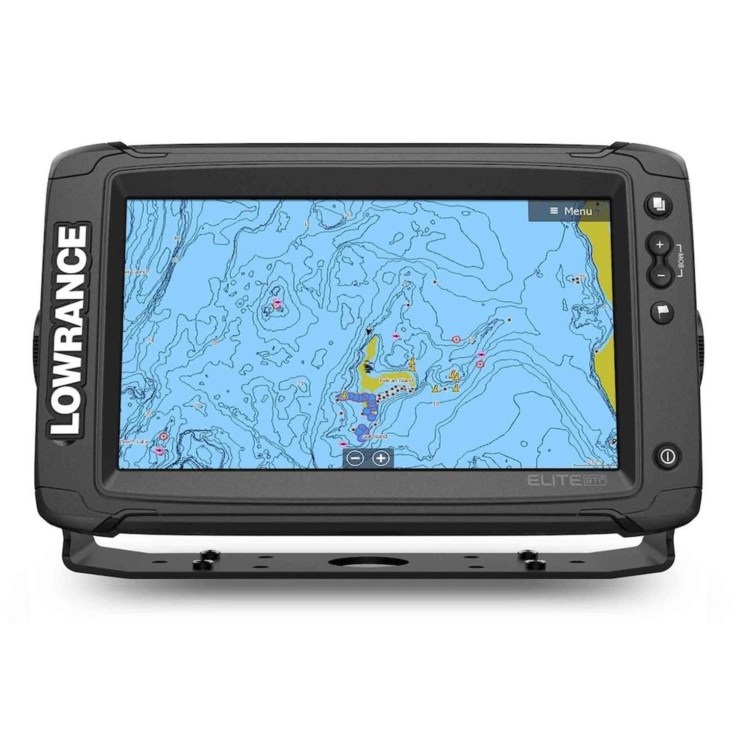 Lowrance Elite Ti2 Fish Finder Elite Ti2 9 US/Canada Mapping with 3-in-1 Transducer