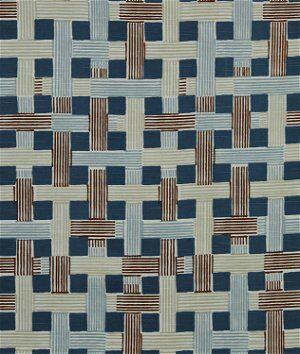 Robert Allen @ Home Illusion Weave Copper Fabric  - brown