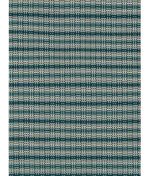 Robert Allen @ Home Zanga Railroaded Backed Aegean Fabric  - blue