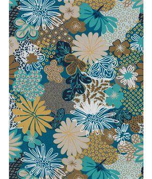 Robert Allen @ Home Zomper Aegean Fabric  - blue