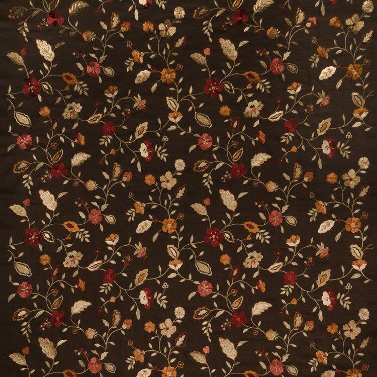 Trend 02105 Garden Spice Fabric  - orange