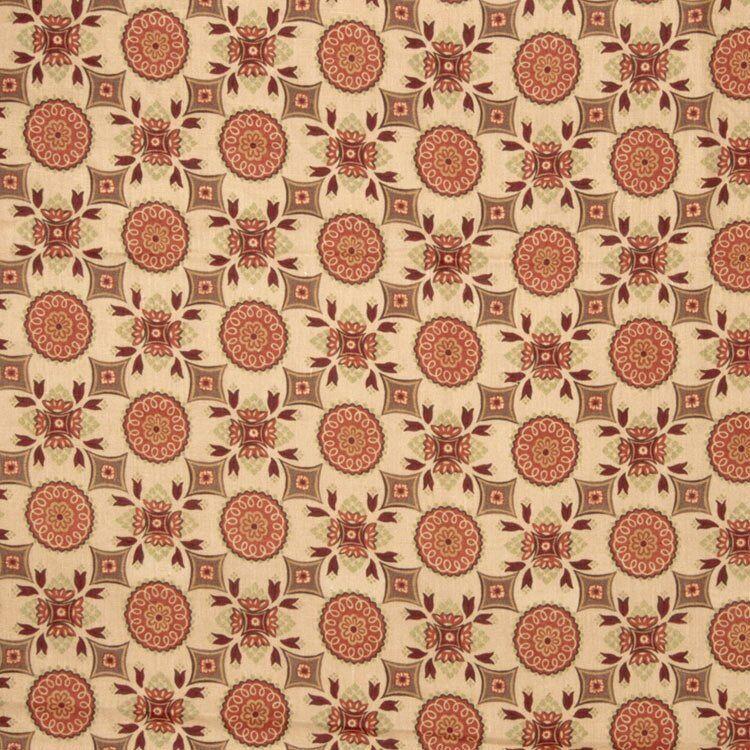 Trend 02127 Garden Spice Fabric  - orange