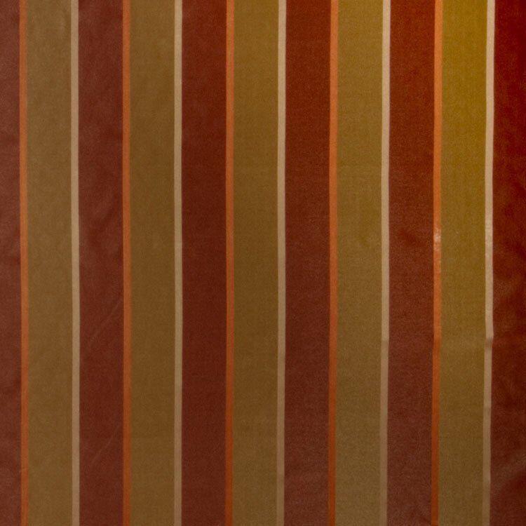 Trend 02131 Garden Spice Fabric  - orange